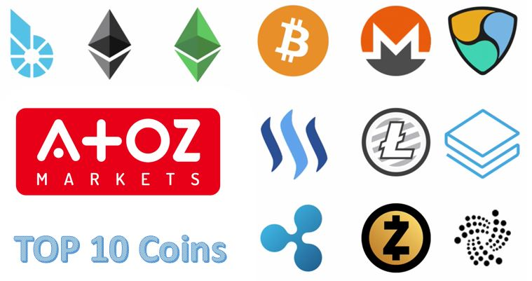 Top 10 cryptocurrency 2019