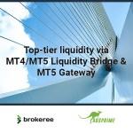 Brokeree Solutions Announces Ausprime Integration With Liquidity Bridge