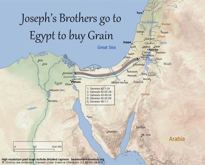 joseph's brothers go to buy grain www.atozmomm.com