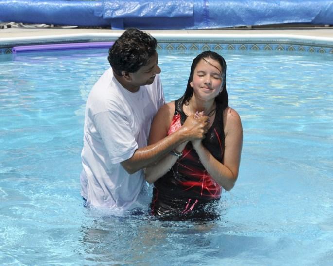 baptize into the Holy Spirt www.atozmomm.com