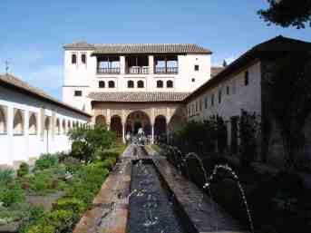The Generalife or summer palace