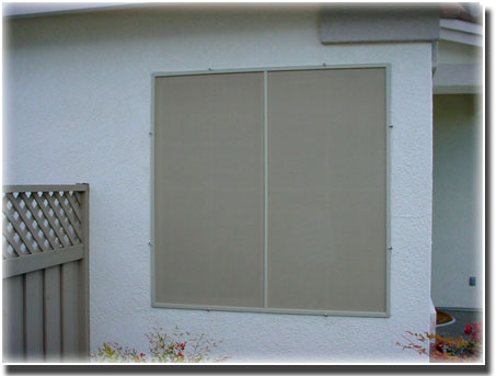 Beige Sun Screens Sacramento CA A to Z Window Screens