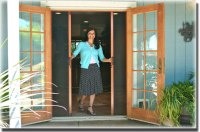 Out-Swing Doors - Sacramento CA - A to Z Window Screens