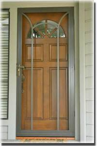 Swinging Screen Doors - Sacramento CA - A to Z Screens