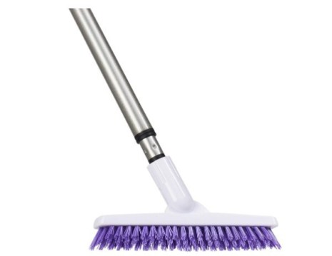 grout brush with long handle - Fuller Brush Tile Grout E-Z Scrubber Complete