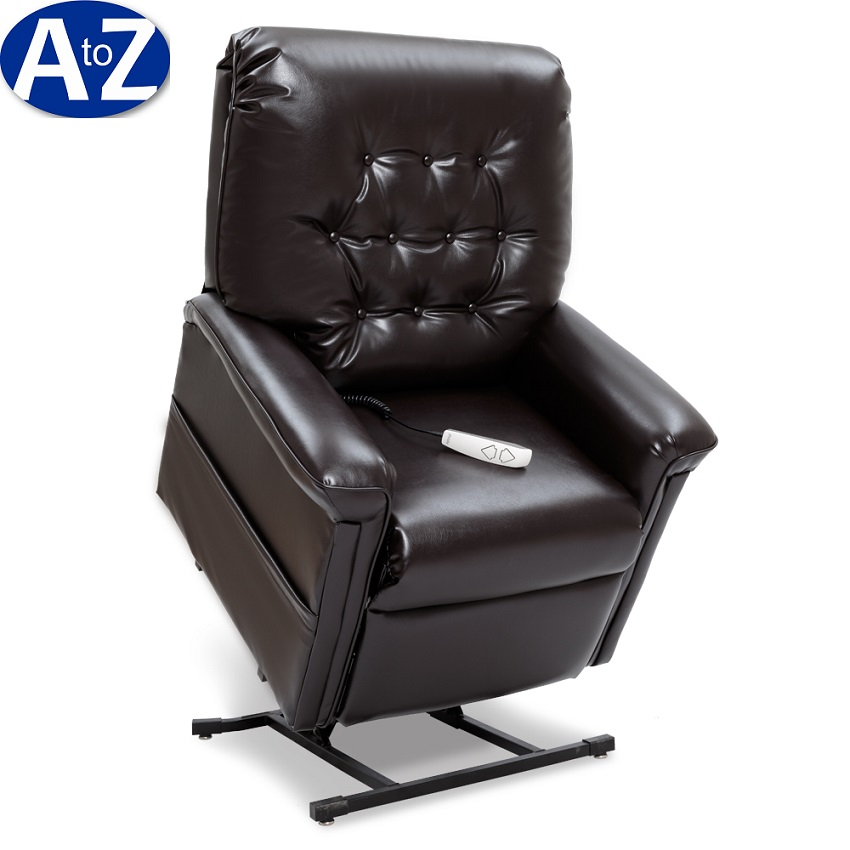 chair stand power brown leather bucket recliner lift chairs for rent book online or by phone