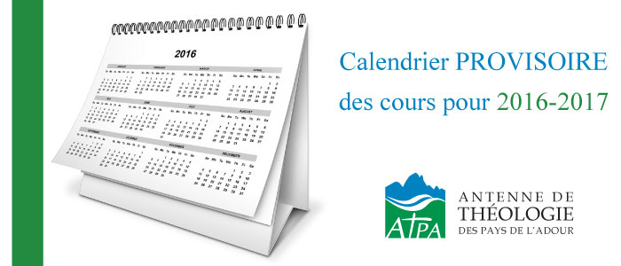 atpa calendrier cours programme 2016 2017 provisoire cours atpa