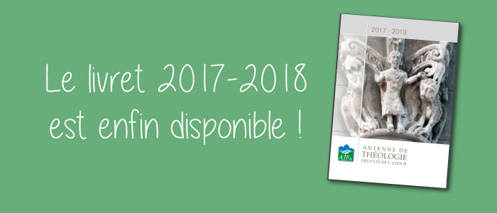 programme atpa théologie livret 2017 2018