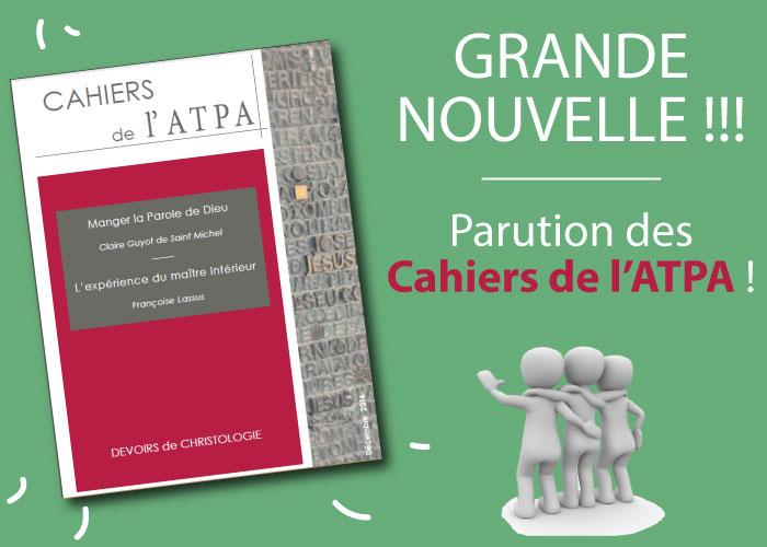 Cahiers de l'ATPA pau dax