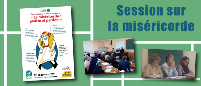 Session sur la miséricorde