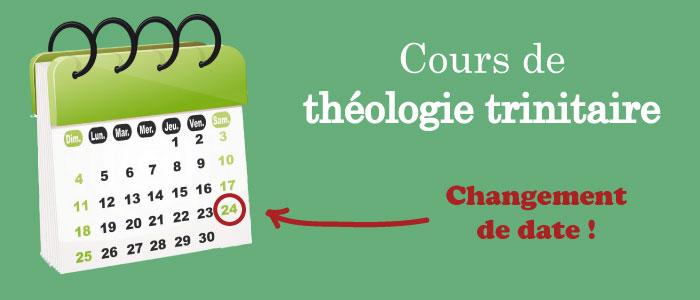 trinitaire-date cours de théologie trinitaire atpa date
