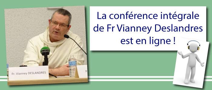 La conférence intégrale de Fr Vianney Deslandres est en ligne ! atpa théologie dax bayonne pau ict conférence-fr-vianney-deslandres