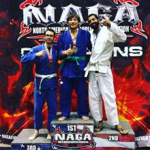 Natan took home 2nd against a really tough opponent