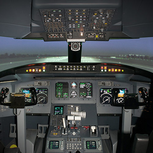 ATP Flight School CRJ200 Regional Jet FTD