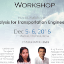 Workshop on Big Data Analytics for Transportation Engineering Systems