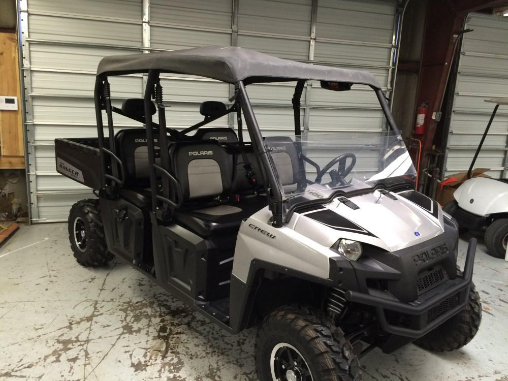 medium resolution of 2011 polaris ranger crew 800 pwr steering limited edition very clean new tires on front 3 007 miles looks and runs great 10 400 sold