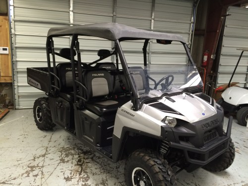 small resolution of 2011 polaris ranger crew 800 pwr steering limited edition very clean new tires on front 3 007 miles looks and runs great 10 400 sold