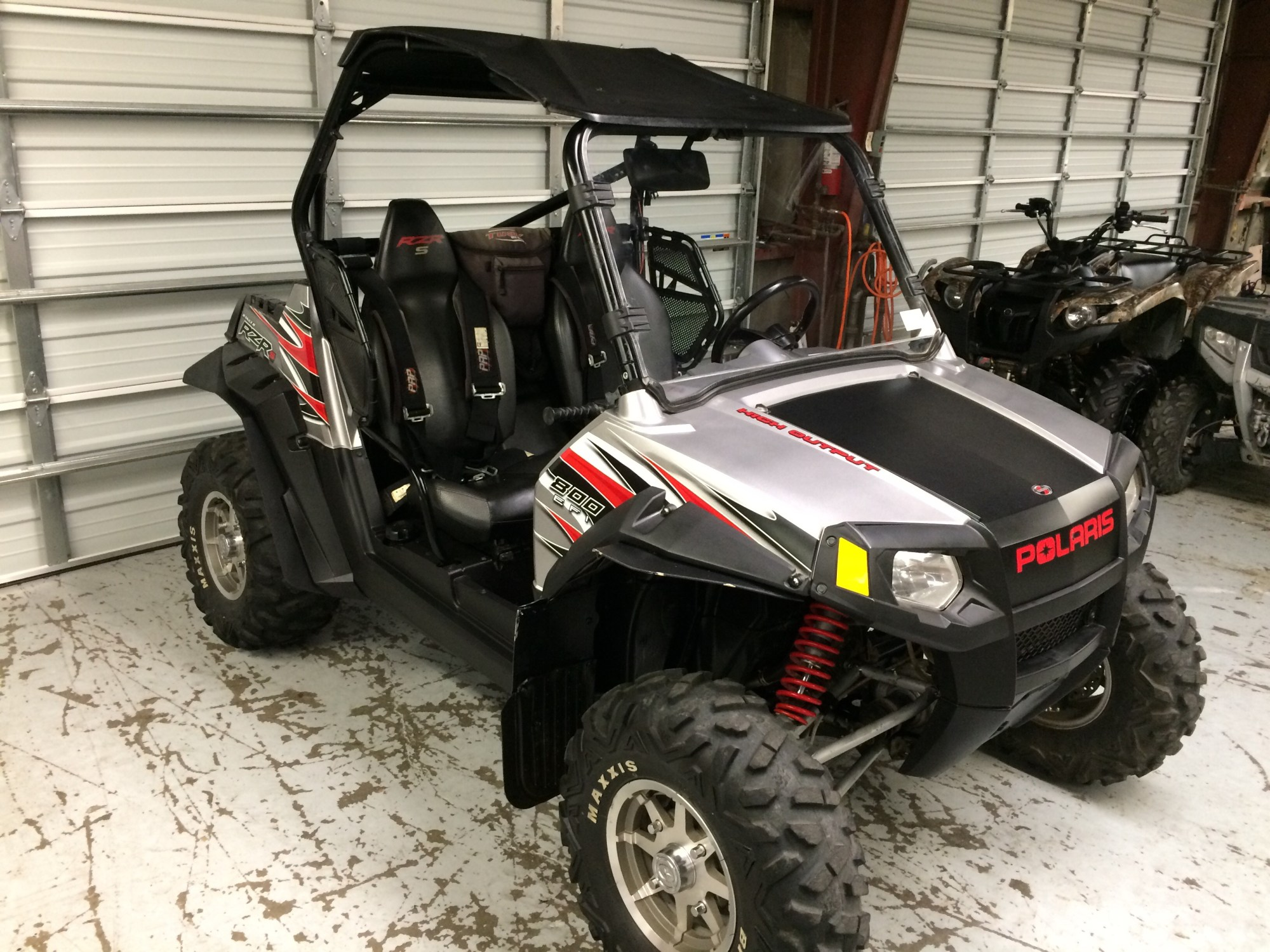 hight resolution of 2009 polaris rzr 800 s limited edition with full windshield hard top stereo harnesses 6800 sold