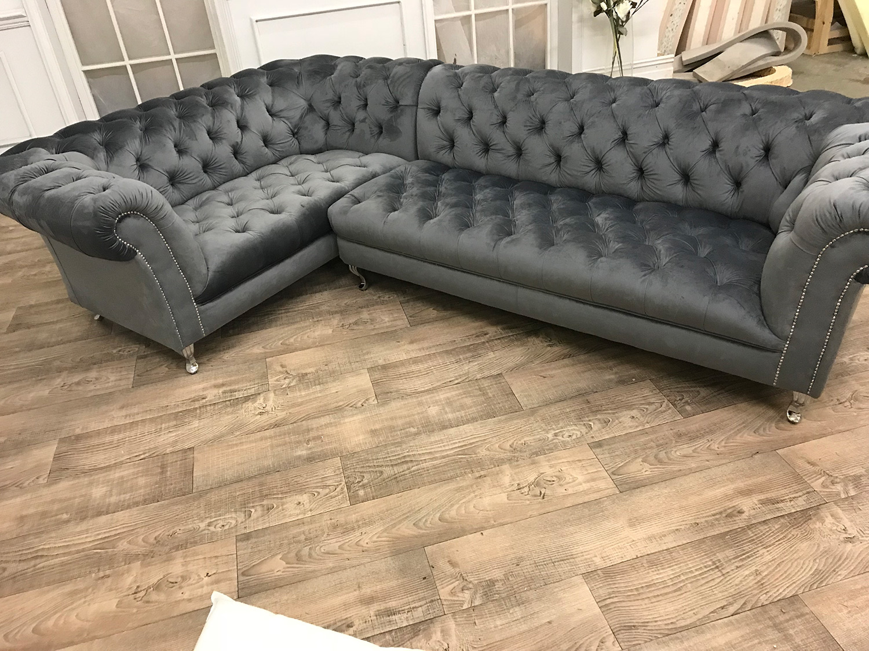 black velvet chesterfield sofa bed crate and barrel quality chub corner atpu