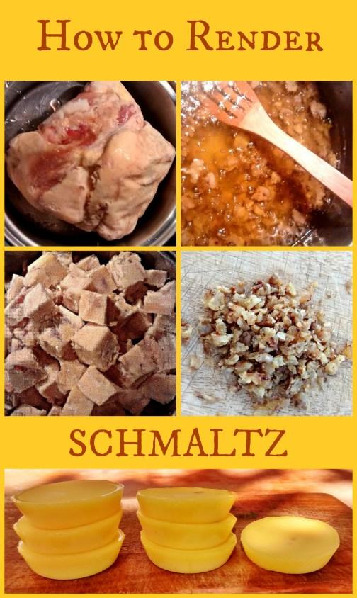 How to Render Schmaltz
