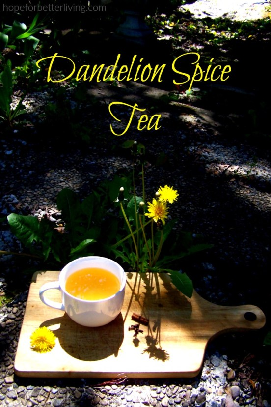 Got dandelions? Make this simple tea!