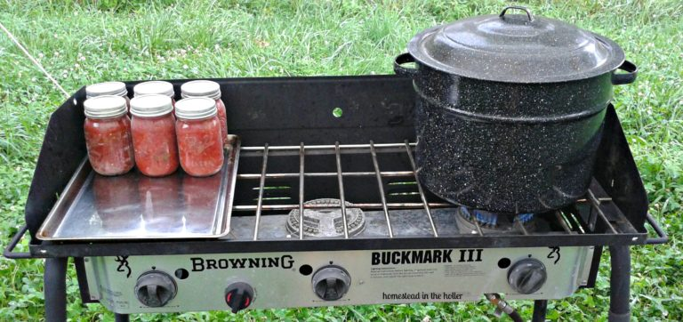 Outdoor Canning Stove