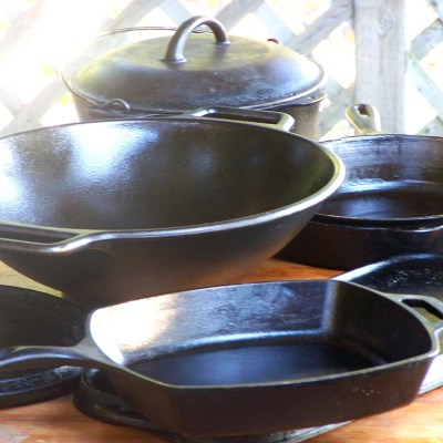 Cast Iron & How to Win the Non-Stick Battle
