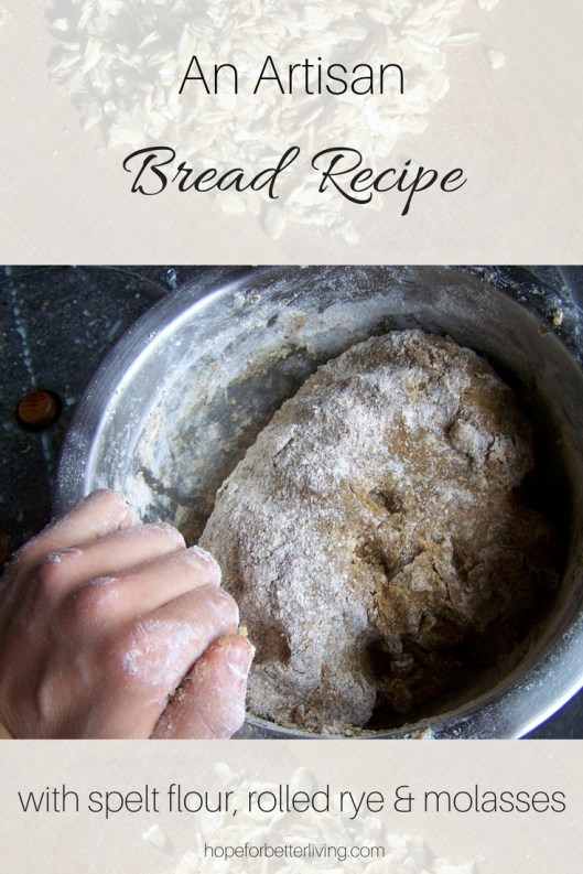 Learn how to make rich, dark artisan bread with this simple recipe!