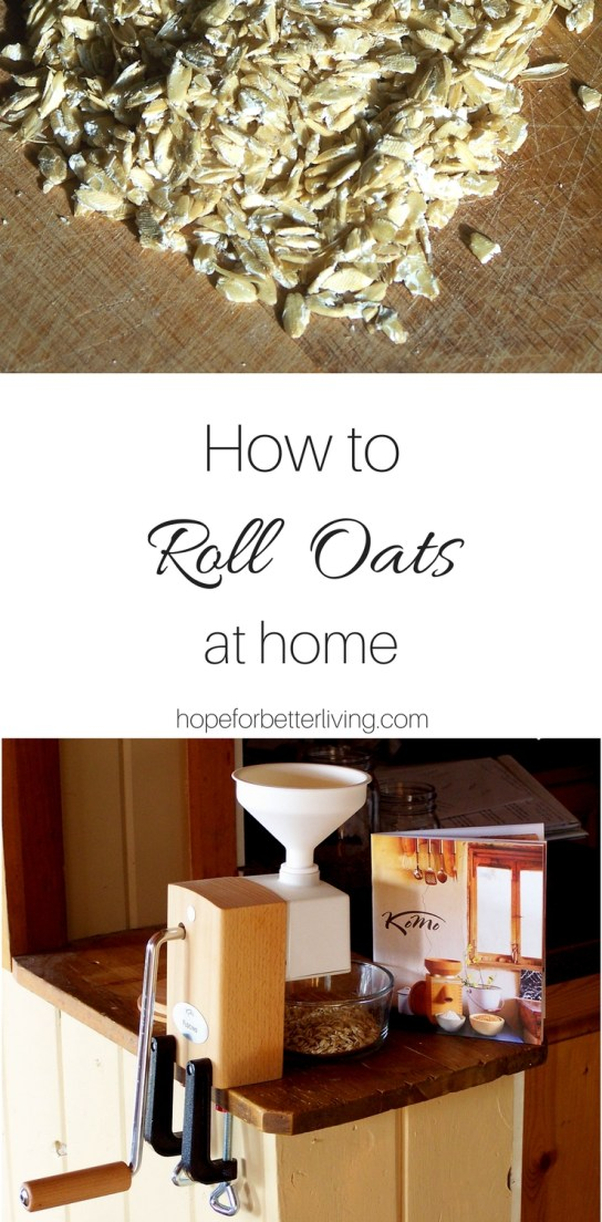 Gain the nutritional benefits by learning how to roll oats at home!