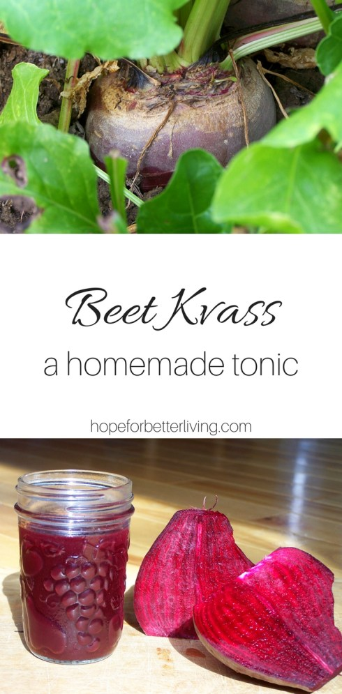 This beet kvass recipe is simple to make and even better for your health! Take the fermented liquid as a tonic every morning
