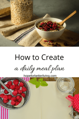 Frustrated with monthly meal planning? It's time to give daily meal planning a try!