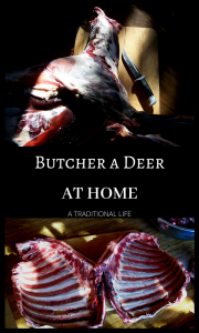 Intimidated by the thought of butchering your own deer? I'll make it simple for you!