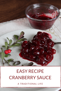 Learn to DIY the cranberry sauce this year!