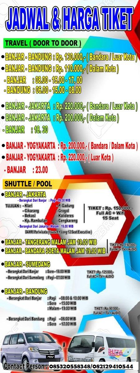 Harga Travel Bandung Jakarta : harga, travel, bandung, jakarta, TARIF, TRAVEL, Chall, Travel