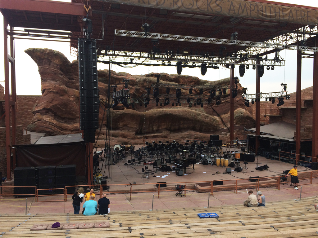 Pink Martini Concert at Red Rocks Amphitheater, Colorado