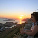 Taormina Lepore at sunset