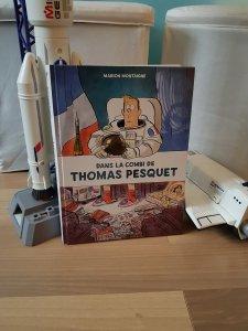 Dans la combi de Thomas Pesquet – Marion Montaigne (Dargaud)