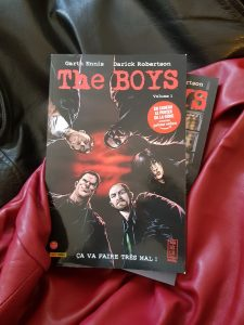 Lu – The Boys – Garth Ennis et Darick Robertson (Panini comics)