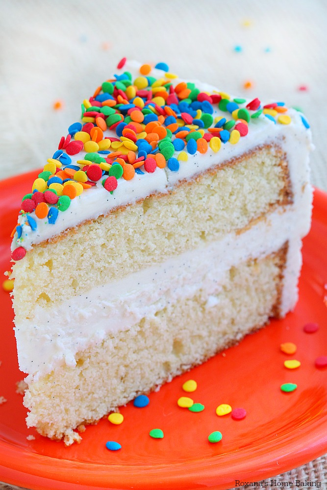 Vanilla Bean Cake With Vanilla Bean Buttercream Recipe