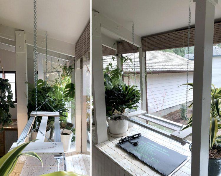 DIY Adjustable LED Light Fixtures