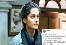 User Tried to Troll Taapsee Paanu on Twitter