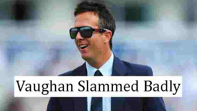 India vs England : Vaughan tweets make Indian fans angry