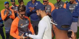 Rishabh Pant Became The First Indian To Open His Test Runs Account With a Six