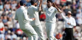 Indian Bowling dominates 1st session
