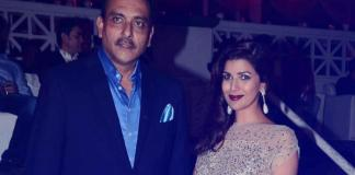 Ravi Shastri and Nimrat Kaur