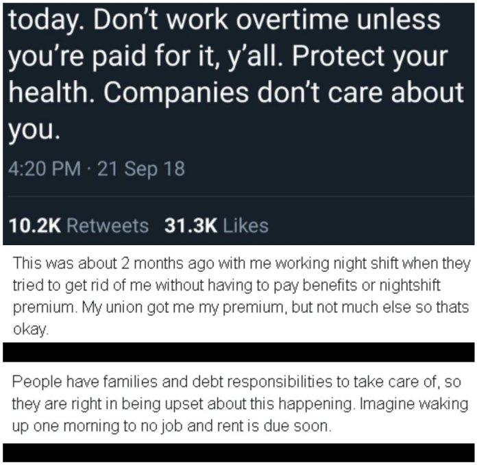 Reddit thread is eyeopener for job people