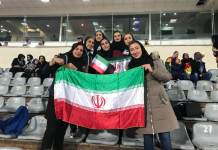 Iran allowed women's in stadium
