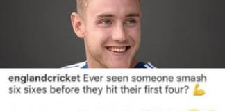 Stuart Broad Savage Comment