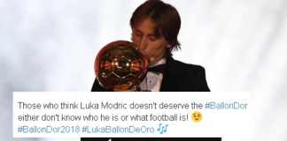 Mordic with Ballon d'or