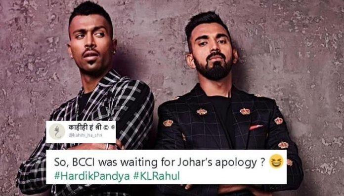 Hardik Pandya, KL Rahul